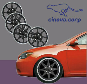New-set-of-4-16-Inch-Black-Chrome-Hubcaps-Center-Hub-Caps-Wheel-Rim-Covers