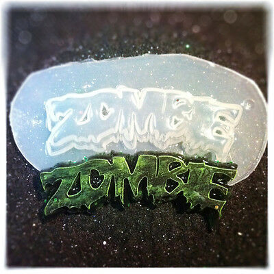 Zombie Flexible Resin Mold For Handmade Jewelry or Hair Bows