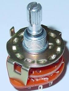 Stufendrehschalter-Stufenschalter-6x2-EIN-6-Schaltstellungen-S38
