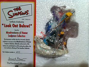 SIMPSONS-HAMILTON-SCULPTURE-LOOK-OUT-BELOW-FIGURE-LIMITED-EDITION-VERY-RARE-NEW