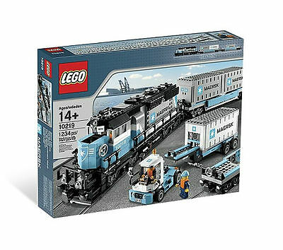 LEGO Trains Maersk Train (10219) NEW SEALED