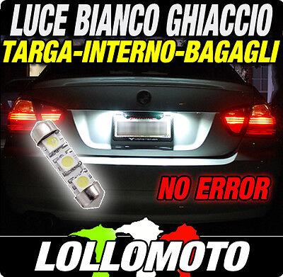 LAMPADINA LED SMD LUCE TARGA e INTERNO AUDI A1 A3 A4 A5 A6 A7 A8