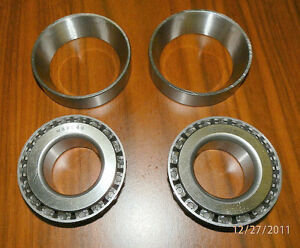 9 inch Ford Pinion Bearings and Races two each; M88048 & M88010