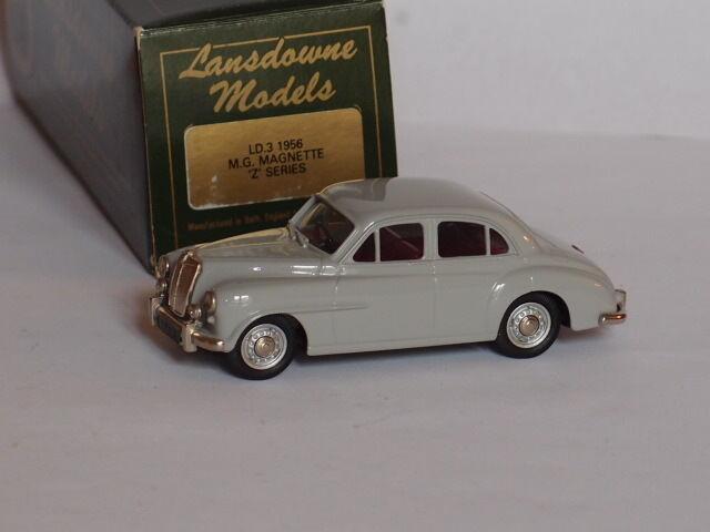 1956 M.G.MAGNETTE Z SERIES LANSDOWNE MODELS LDM3 1/43