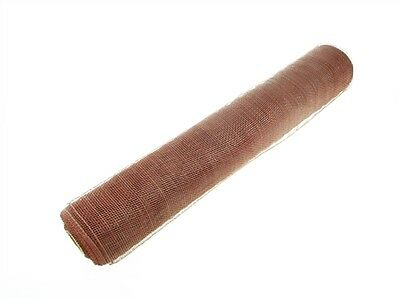 """21"""" Decorative Mesh / Sinamay Fabric  10 Yard Roll  - 19 DIFFERENT COLORS!!"""