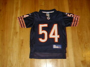 REEBOK-NFL-ON-FIELD-BRIAN-URLACHER-CHICAGO-BEARS-NFL-YOUTH-REPLICA-JERSEY-SMALL