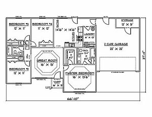 s l300 house plans for 1500 sq ft 4 bedroom house ebay,1500 Sq Ft House Plans 4 Bedrooms