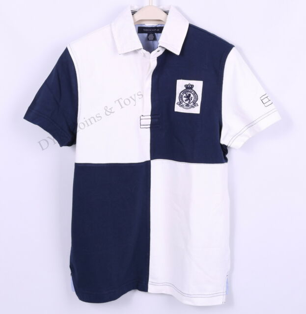 NEW TOMMY HILFIGER MEN CLASSIC GOLF POLO SHIRT RUGBY SHORT SLEEVE -FREE SHIPPING