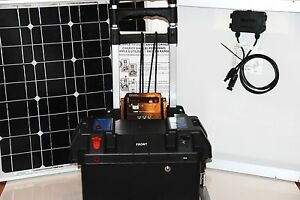 Details about SOLAR POWER GENERATOR 100 Amps 800 Watts Play NOT A KIT ...