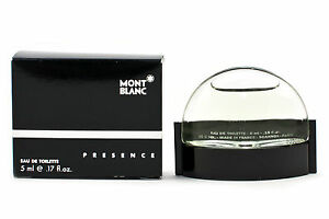 PRESENCE-MONTBLANC-MONT-BLANC-miniature-mini-perfume-EDT-5ml-slight-damage