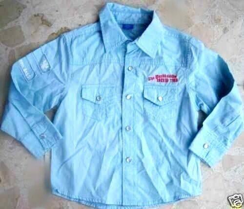 Camisa joven camisa niños camisa manga larga camisa de cuadros camisa de franela blusa chica