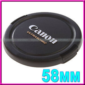 58mm-Snap-on-Front-Lens-Cap-Cover-for-Canon-EOS-Rebel-T3i-T3-T2i-XS-XSi-T1i-C95