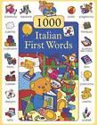 1000 First Words in Italian by Don Campaniello (Hardback, 2012)