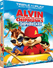 Alvin And The Chipmunks - Chipwrecked (Blu-ray and DVD Combo, 2012)
