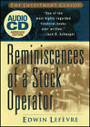 Reminiscences of a Stock Operator by Edwin Lefevre (CD-Audio, 2004)