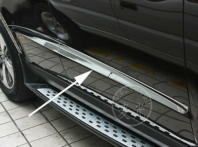 Chrome Body door Side Molding Trims For Hyundai Santa Fe Santafe 2010 2011