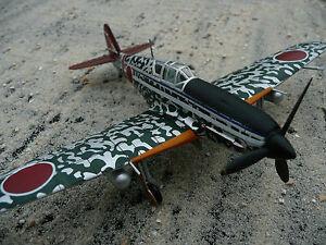 Ki-61-Hien-Japon-1944-V-12-Avion-de-chasse-IXO-1-72-Me-109-AVION-Avion