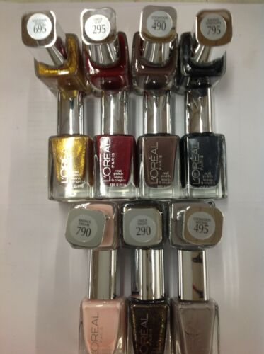 14 X L'OREAL LIMITED EDITION PROJECT RUNWAY NAIL POLISH ASSORTED 7 COLORS NEW.