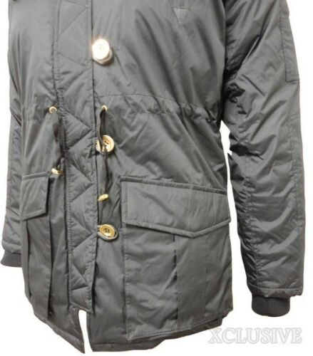 LADIES PLUS SIZE THICK PADDED FUR HOODED PARKA JACKET QUILTED WINTER COAT 18-26