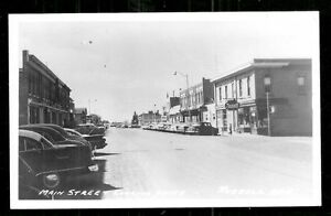 Russell-rppc-Main-Street-Cars-MB-Manitoba-Canada-50s