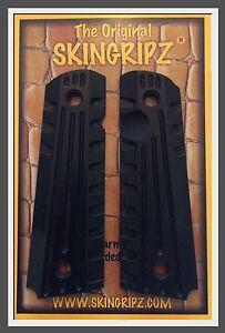 1911-Grips-034-TAC-II-034-Full-Size-Colt-Kimber-Black-Original-SkinGripz
