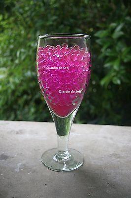 Perles d'eau !! Billes de gel ! Art floral, décoration, + de 500 billes / sachet