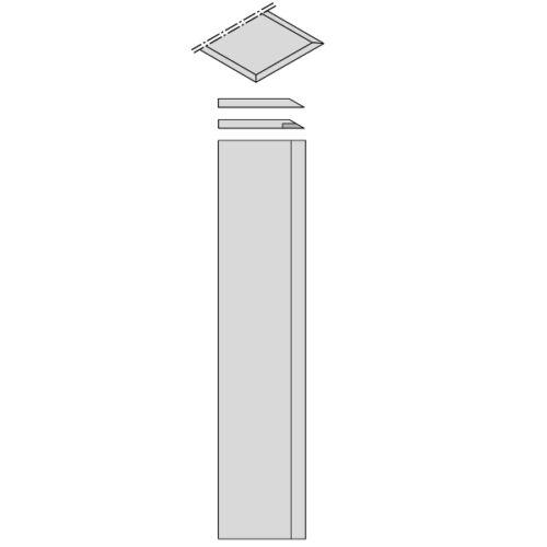 792.500.35 L 500 mm. CMT COLTELLI PER PIALLA COD