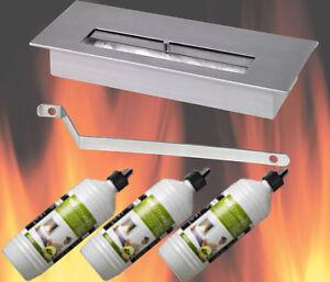 edelstahl bio ethanol brenner 3 liter ethanol gelkamine. Black Bedroom Furniture Sets. Home Design Ideas