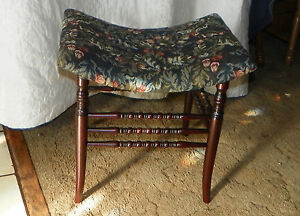 Mahogany-Spindle-Vanity-Bench-Hall-Bench-Entry-Bench-BN38