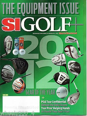 2012 Sports Illustrated Golf Plus+ Equipment / Gear Issue Subscription Issue NRM