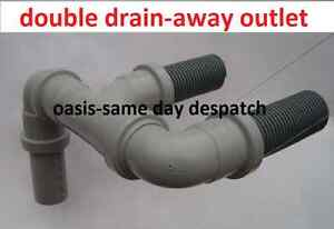 DOUBLE-WASTE-EASY-DRAIN-AWAY-WATER-OUTLET-HOSE-PIPE-TO-WASTEMASTER-HOG-CARAVANS