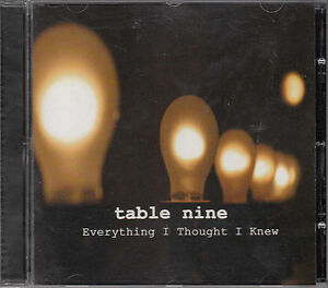 TABLE-NINE-EVERYTHING-I-THOUGHT-I-KNEW-CD-T9Music-T9003-Leicester-folk