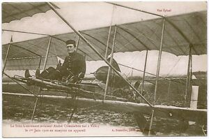 Aviator-Sub-Lt-Andre-Quennehen-killed-at-Velizy-1916-with-his-biplane-WW1