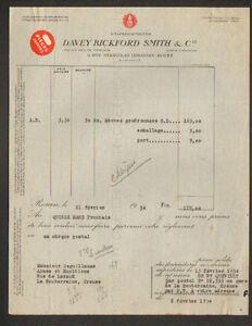 ROUEN-76-MATERIEL-PYROTECHNIE-amp-EXPLOSIF-034-DAVEY-BICKFORD-SMITH-amp-Cie-034-1934