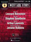 West Side Story Play-along: Solo Arrangements of 10 Songs with CD Accompaniment - Trumpet by Leonard Bernstein (Mixed media product, 2011)