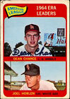 1965 Topps AL ERA Leaders 7 Baseball Card