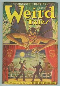 Weird-Tales-March-1949-FN-Matt-Fox-cover-Derleth-Sturgeon-Bloch
