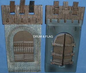 CASTLE-GATE-GATES-SPARE-PARTS-PLAY-ALONG-HELMS-DEEP-PARTS-LOTR-AOME-DOORS