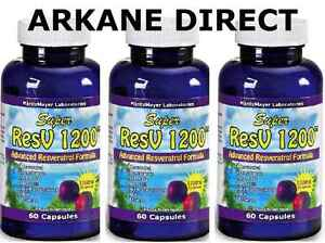 3-x-RESVERATROL-1200-mg-POTENT-DOSE-Red-Wine-Extract-Detox-Anti-Oxidant