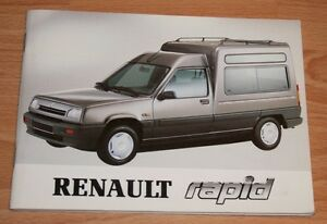 Renault-Rapid-Betriebsanleitung-Bedienungsanleitung-1992