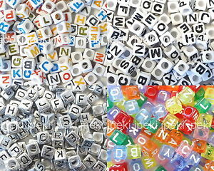 250-Acrylic-ABC-Letter-Alphabet-Cube-Beads-6mm-7mm-N34-37