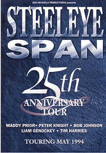Steeleye-Span-original-2-sided-Australian-flyer-from-1994