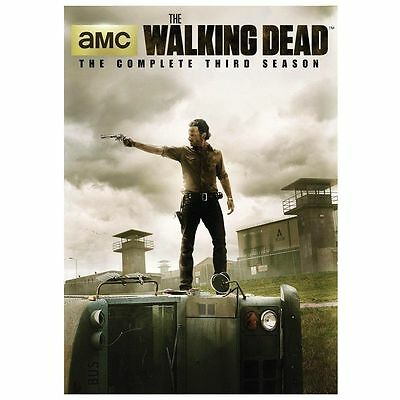 The Walking Dead: The Complete Third Season 3 (DVD, 2013, 5-Disc Set)