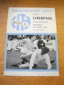 20-08-1969-Manchester-City-v-Liverpool-Folded-No-obvious-faults-unless-desc