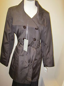 New Nwt à Marc M boutonnage Marron Clo Andrew York Trench double Veste Bari 5BSq5Z7