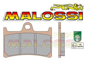 2 Plaquettes frein BRAKE PADS MALOSSI pr Disques Avant T-MAX 500 08/11 TMAX 530