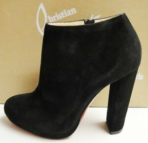 new style 91a01 273f4 escaladrome | christian louboutin ankle boots ebay