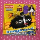 Fisher-Price Imaginext DC Super Friends Batman The Penguin Sub & Penguin Figure - 00746775033569