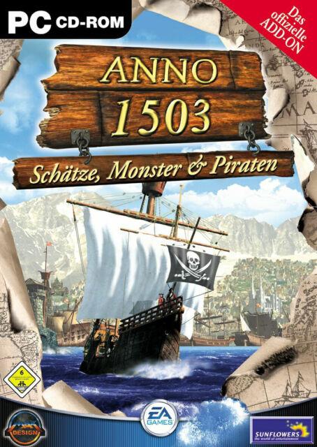 Anno 1503: Schätze, Monster und Piraten (PC, 2003, DVD-Box)