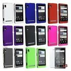 8 Color White Pink Black Hard Case Cover for Motorola Droid 2 A955 Global Phone
